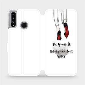 Flipové pouzdro Mobiwear na mobil Samsung Galaxy A20S - M046P Be yourself