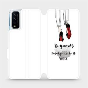 Flipové pouzdro Mobiwear na mobil Vivo Y11S - M046P Be yourself