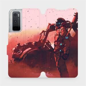 Flipové pouzdro Mobiwear na mobil Vivo Y70 - MA09S Průzkumník s červeným vozítkem