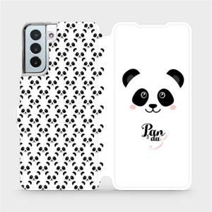Flipové pouzdro Mobiwear na mobil Samsung Galaxy S21 Plus 5G - M030P Panda Amálka