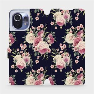 Flipové pouzdro Mobiwear na mobil Xiaomi Mi 11 - V068P Růžičky
