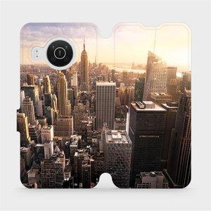 Flip pouzdro Mobiwear na mobil Nokia X10 - M138P New York