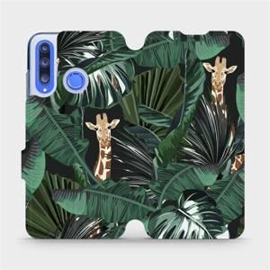 Flip pouzdro Mobiwear na mobil Honor 20 Lite - VP06P Žirafky