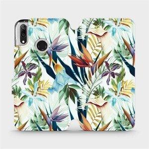 Flipové pouzdro Mobiwear na mobil Huawei Y7 2019 - M071P Flóra
