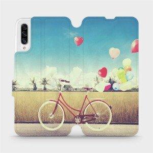 Flipové pouzdro Mobiwear na mobil Samsung Galaxy A30s - M133P Kolo a balónky