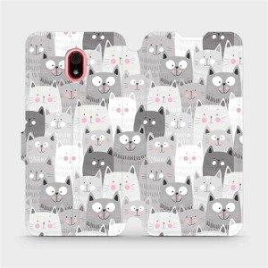Flipové pouzdro Mobiwear na mobil Xiaomi Redmi 8a - M099P Kočičky