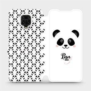 Flipové pouzdro Mobiwear na mobil Xiaomi Redmi Note 9 Pro - M030P Panda Amálka