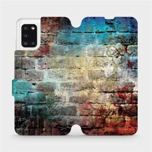 Flipové pouzdro Mobiwear na mobil Samsung Galaxy A31 - V061P Zeď
