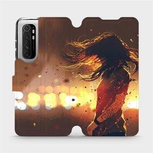 Flipové pouzdro Mobiwear na mobil Xiaomi Mi Note 10 Lite - MA02S Tetovaná dívka