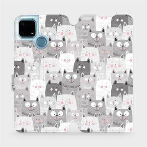 Flip pouzdro Mobiwear na mobil Realme 7i - M099P Kočičky