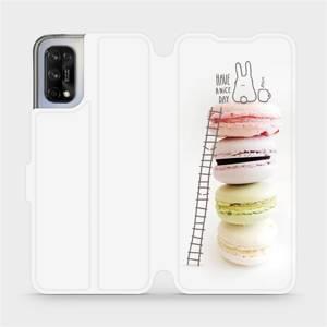 Flipové pouzdro Mobiwear na mobil Realme 7 5G - M090P Makronky - have a nice day