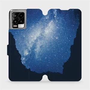 Flip pouzdro Mobiwear na mobil Realme 8 - M146P Galaxie