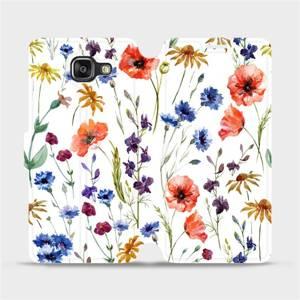 Flip pouzdro Mobiwear na mobil Samsung Galaxy A5 2016 - MP04S Luční kvítí