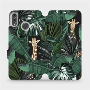 Flip pouzdro Mobiwear na mobil Honor 8X - VP06P Žirafky