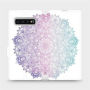 Flipové pouzdro Mobiwear na mobil Samsung Galaxy S10 Plus - M008S Mandala