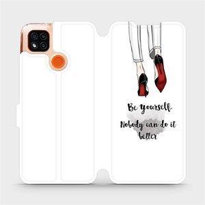 Flipové pouzdro Mobiwear na mobil Xiaomi Redmi 9C - M046P Be yourself