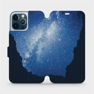 Flipové pouzdro Mobiwear na mobil Apple iPhone 12 Pro Max - M146P Galaxie