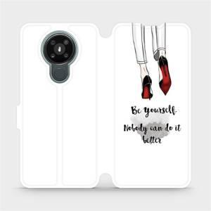 Flipové pouzdro Mobiwear na mobil Nokia 3.4 - M046P Be yourself