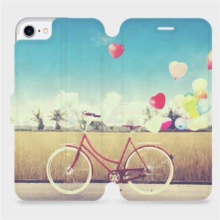 Flipové pouzdro Mobiwear na mobil Apple iPhone 7 - M133P Kolo a balónky