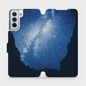 Flipové pouzdro Mobiwear na mobil Samsung Galaxy S21 Plus 5G - M146P Galaxie