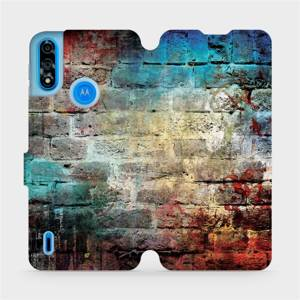 Flipové pouzdro Mobiwear na mobil Motorola Moto E7i Power - V061P Zeď