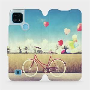 Flip pouzdro Mobiwear na mobil Realme C21 - M133P Kolo a balónky