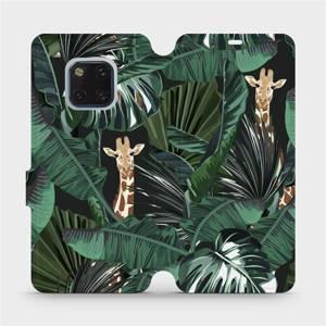 Flip pouzdro Mobiwear na mobil Huawei Mate 20 Pro - VP06P Žirafky
