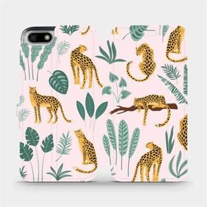 Flip pouzdro Mobiwear na mobil Honor 7S - MP07S Leopardi
