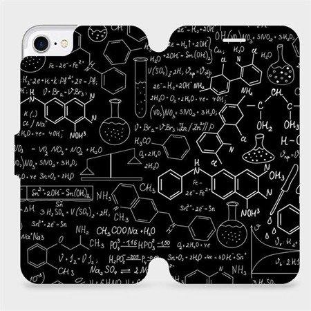 Flipové pouzdro Mobiwear na mobil Apple iPhone 8 - V060P Vzorečky