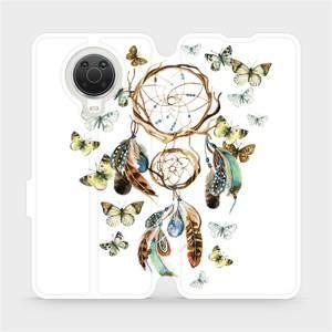 Flip pouzdro Mobiwear na mobil Nokia G20 - M001P Lapač a motýlci