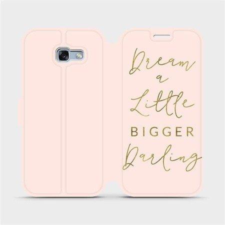 Flipové pouzdro Mobiwear na mobil Samsung Galaxy A3 2017 - M014S Dream a little