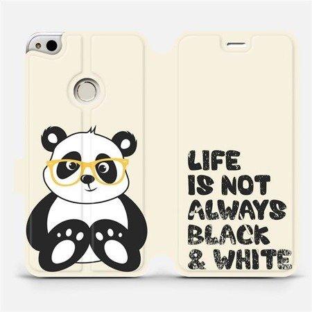 Flipové pouzdro Mobiwear na mobil Huawei P9 Lite 2017 - M041S Panda - life is not always black and white