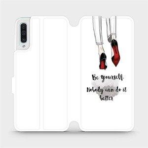 Flipové pouzdro Mobiwear na mobil Samsung Galaxy A50 - M046P Be yourself