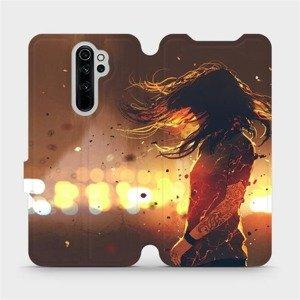 Flipové pouzdro Mobiwear na mobil Xiaomi Redmi Note 8 Pro - MA02S Tetovaná dívka