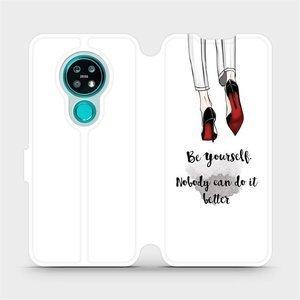 Flipové pouzdro Mobiwear na mobil Nokia 7.2 - M046P Be yourself