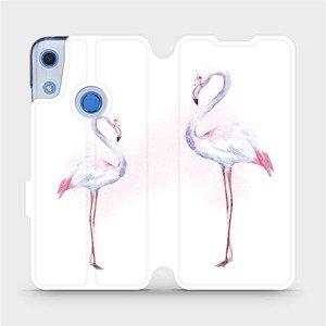 Flipové pouzdro Mobiwear na mobil Huawei Y6S - M005S Plameňáci
