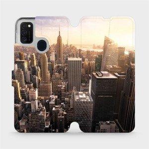 Flipové pouzdro Mobiwear na mobil Samsung Galaxy M21 - M138P New York
