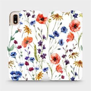 Flip pouzdro Mobiwear na mobil Huawei Y5 2019 / Honor 8S - MP04S Luční kvítí