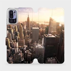 Flip pouzdro Mobiwear na mobil Xiaomi Redmi Note 10 5G - M138P New York