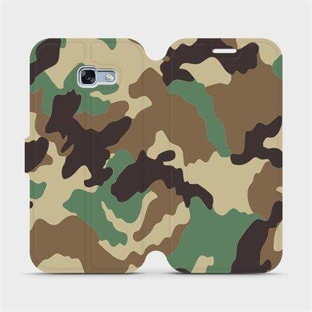 Flipové pouzdro Mobiwear na mobil Samsung Galaxy A3 2017 - V111P Maskáče