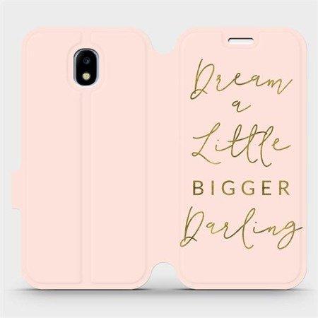 Flipové pouzdro Mobiwear na mobil Samsung Galaxy J3 2017 - M014S Dream a little
