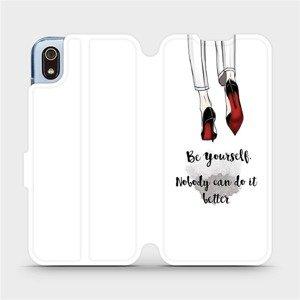 Flipové pouzdro Mobiwear na mobil Xiaomi Redmi 7A - M046P Be yourself