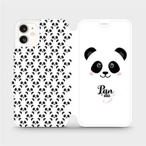 Flipové pouzdro Mobiwear na mobil Apple iPhone 11 - M030P Panda Amálka
