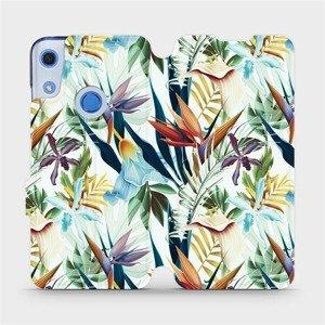 Flipové pouzdro Mobiwear na mobil Huawei Y6S - M071P Flóra