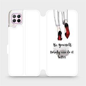 Flipové pouzdro Mobiwear na mobil Huawei P40 Lite - M046P Be yourself