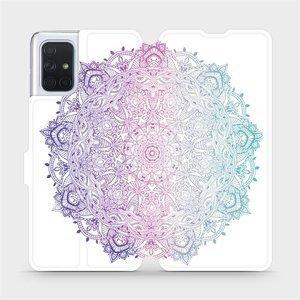 Flipové pouzdro Mobiwear na mobil Samsung Galaxy A71 - M008S Mandala