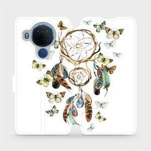 Flipové pouzdro Mobiwear na mobil Nokia 5.4 - M001P Lapač a motýlci