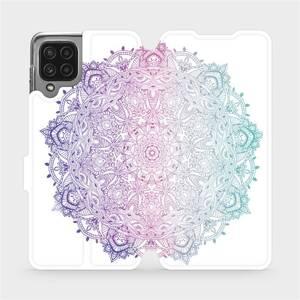 Flip pouzdro Mobiwear na mobil Samsung Galaxy A22 4G - M008S Mandala - výprodej
