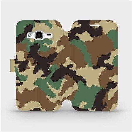 Flipové pouzdro Mobiwear na mobil Samsung Galaxy J3 2016 - V111P Maskáče