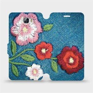 Flipové pouzdro Mobiwear na mobil Huawei Y5 II - MD05P Džínové květy